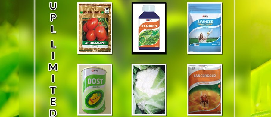 GET A HIGHLY PRECIOUS AND WHOLESOME CROP WITH PRODUCTS OF UPL