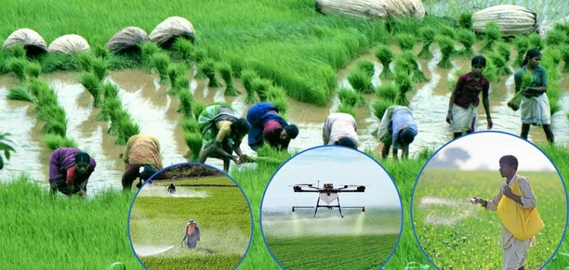 GIVING A BOOST TO INDIAN AGRICULTURE AND MAKING OUR FARMERS? LIVES BETTER